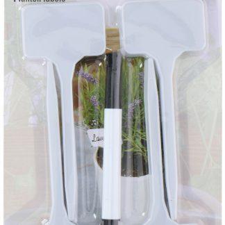 Planten labels 16 stuks met stift